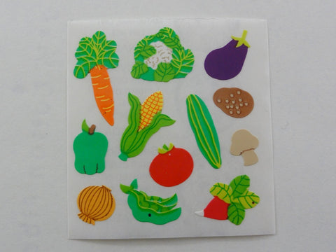 Sandylion Fresh Vegetables Sticker Sheet / Module - Vintage & Collectible