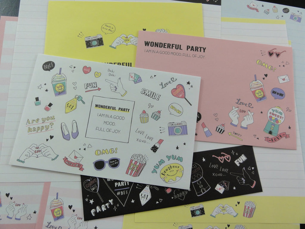 Cute Kamio Kamio Wonderful Party Letter Sets