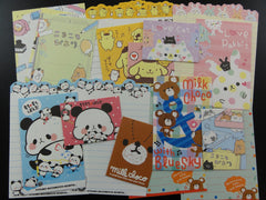 z Cute Kawaii 20 Bear Panda Seal Rabbit Purin MINI Letter Paper + Envelope Theme Set
