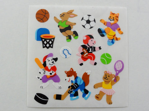 Sandylion Animal Sport Sticker Sheet / Module - Vintage & Collectible