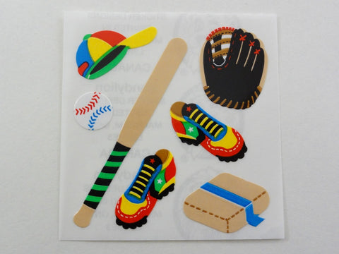 Sandylion Baseball Sticker Sheet / Module - Vintage & Collectible