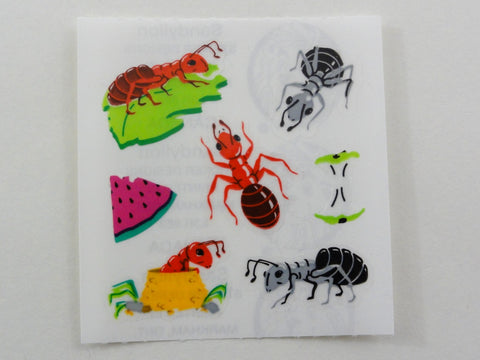 Sandylion Ants Sticker Sheet / Module - Vintage & Collectible Scrapbooking