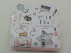 Cute Kawaii Q-Lia My Little Meow Cat Kitten Stickers Sack