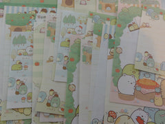 San-X Sumikko Gurashi Apple Green Garden Memo Note Paper Set