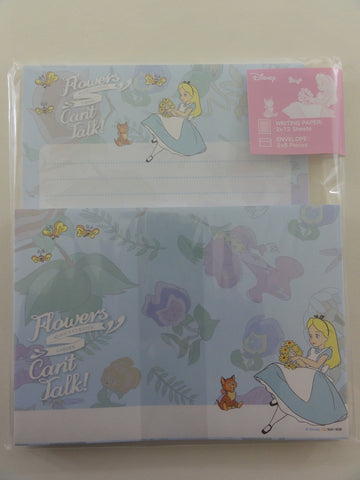 Cute Kawaii Alice Curious Garden Letter Set Pack