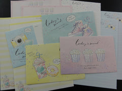 Cute Kawaii Kamio Today's Mood Letter Sets - Stationery Writing Paper Envelope Penpal
