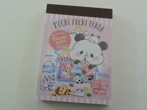 Kawaii Cute Kamio Mochi Panda Mini Notepad / Memo Pad - A
