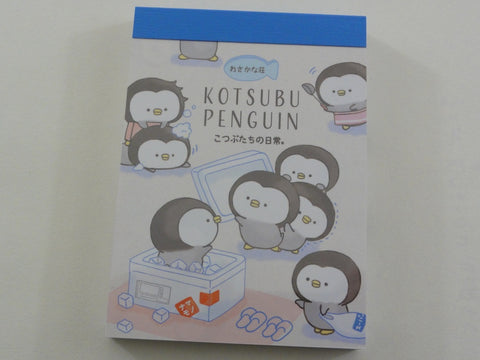 Kawaii Cute Kamio Katsubu Penguin Mini Notepad / Memo Pad