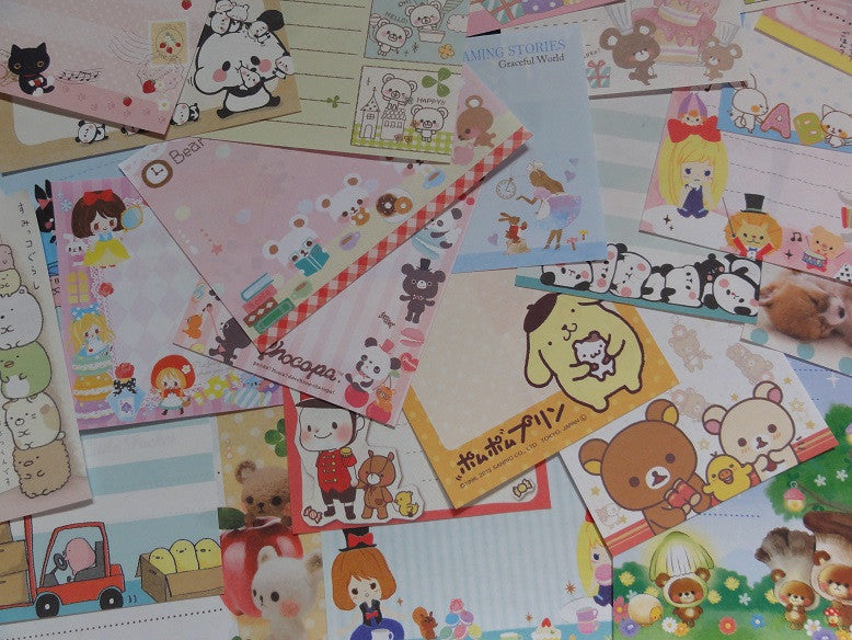 Grab Bag Note Paper: 50 pcs Mini Memo