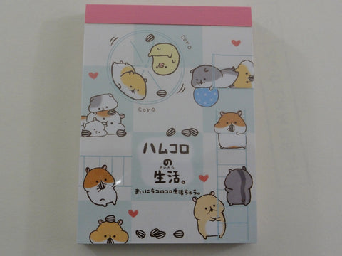 Kawaii Cute Kamio Hamster Mini Notepad / Memo Pad