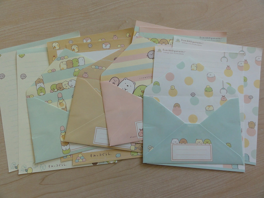 San-X Sumikko Gurashi Friends Letter Sets - C