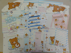 San-X Rilakkuma Bear Shima Stationery Set