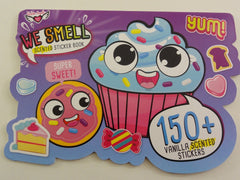 Cute Kawaii Sweet Cake Bakery Donut Cookie Candy Vanilla Scented Stickers Book - for Scrapbook Planner