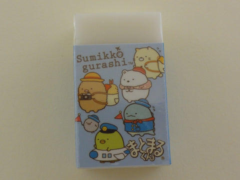 Cute Kawaii San-X Sumikko Gurashi Travel theme Eraser - B