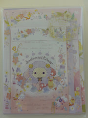 Cute Kawaii San-X Sentimental Circus Flower Garden Fairy Letter Set Pack - B - Stationery Writing Paper Envelope