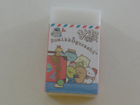 Cute Kawaii San-X Sumikko Gurashi Travel theme Eraser - A
