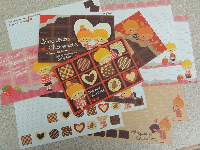 Crux Chocolate Letter Sets