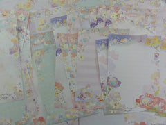 San-X Sentimental Circus Flower Fairies Memo Note Writing Paper Set - Stationery Special Gift