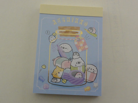 Kawaii Cute Crux Keshikko Animal Mini Notepad / Memo Pad - C