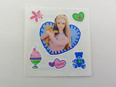 Sandylion Barbie Sticker Sheet / Module - Vintage & Collectible - E