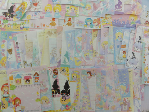 Princess Fairy Tale Theme Mini Memo Note Paper Set - 80 pcs