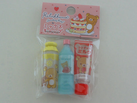 Cute Kawaii San-X Rilakkuma Strawberry Pencil Caps - C