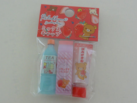 Cute Kawaii San-X Rilakkuma Strawberry Pencil Caps - D