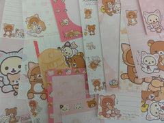 San-X Rilakkuma Bear Cat Memo Note Paper Set