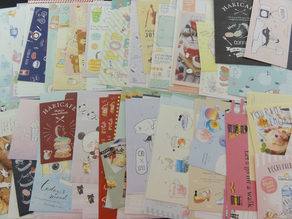 Grab Bag:  25 Writing Paper + Envelope Sets