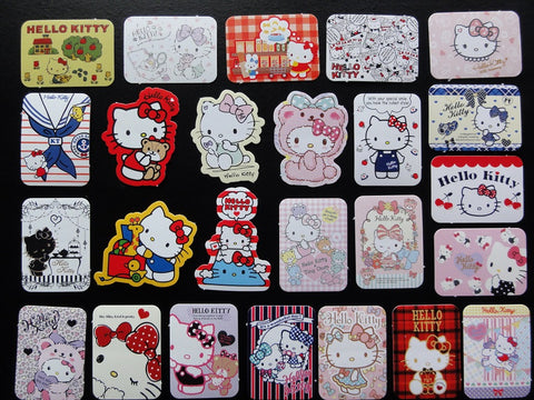 Sanrio Hello Kitty Flake Sack Stickers - 25 pcs