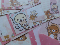 San-X Rilakkuma Bear Cat Stationery Set