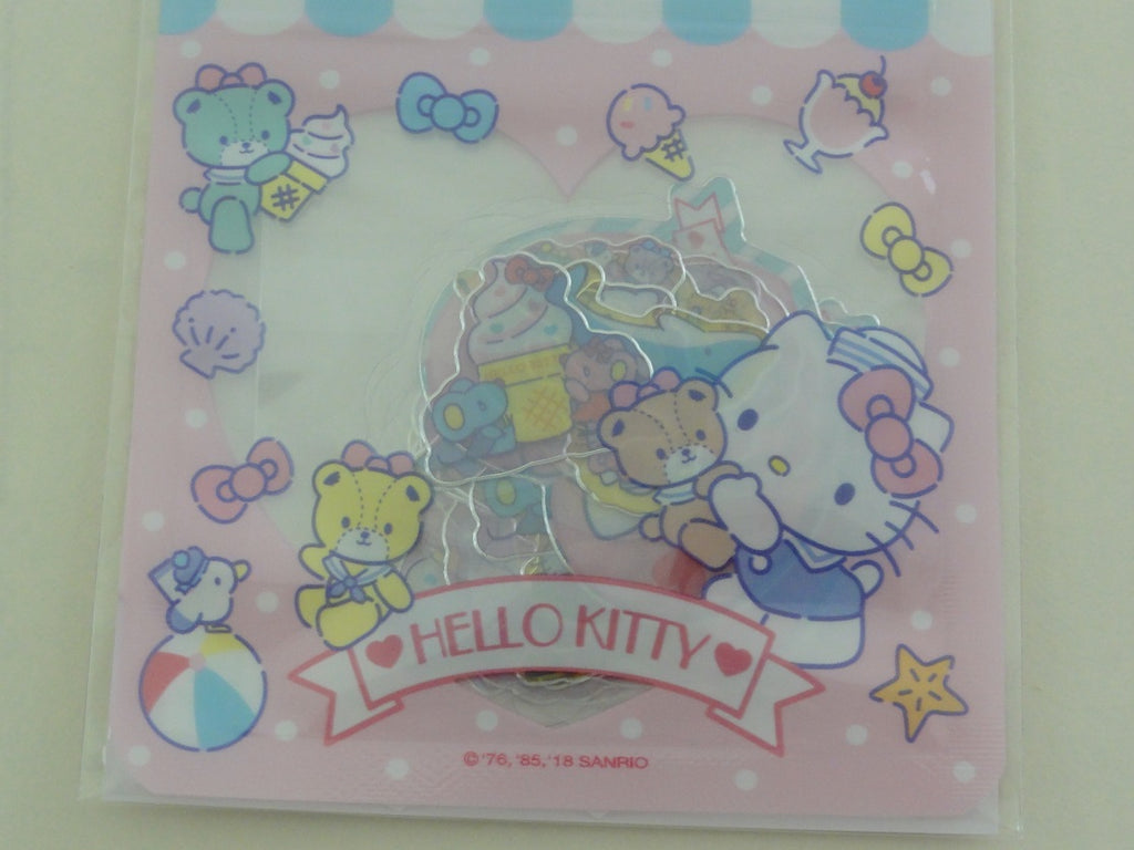 Cute Kawaii Sanrio Hello Kitty Flake Stickers Sack 2018 - Collectible - for Journal Planner Agenda Craft Scrapbook
