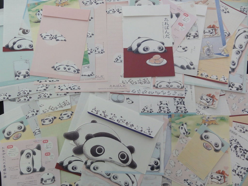 z San-X Tarepanda Panda Stationery Set