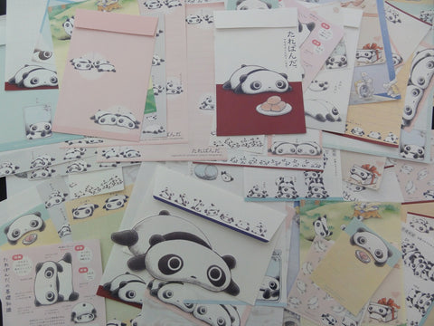 San-X Tarepanda Panda Stationery Set