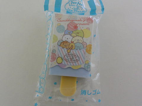 Cute Kawaii San-X Sumikko Gurashi Ice Cream theme Eraser - A