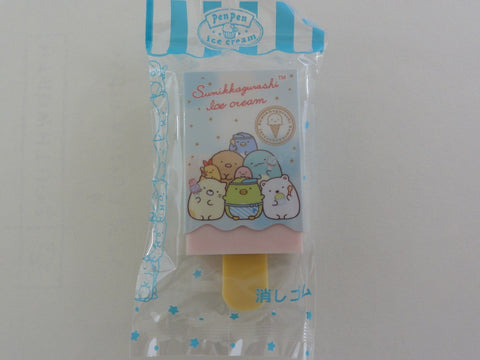 Cute Kawaii San-X Sumikko Gurashi Ice Cream theme Eraser - C