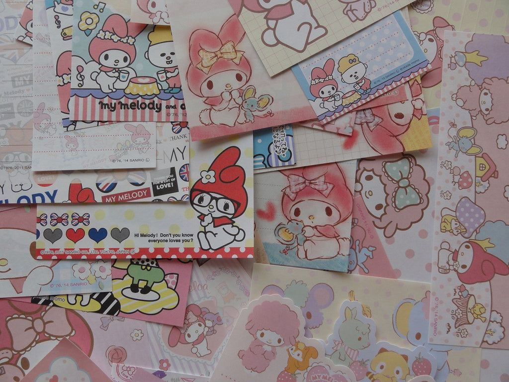 My Melody Memo Note Paper Set - A