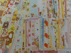 San-X Rilakkuma Bear 198 pc Memo Note Writing Paper Set - Stationery Special Gift