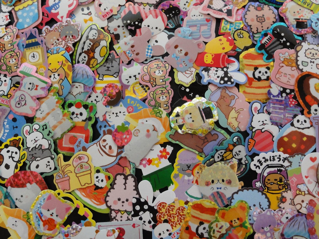 Grab Bag Stickers: 100 pcs
