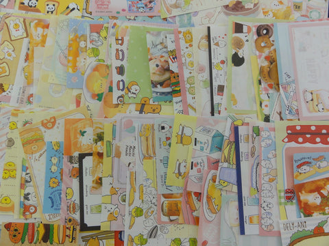 Food Theme Mini Memo Note Paper Set - 100 pcs