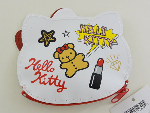 Cute Kawaii Sanrio Hello Kitty Coin Zip Pouch Wallet - Bag Accessories