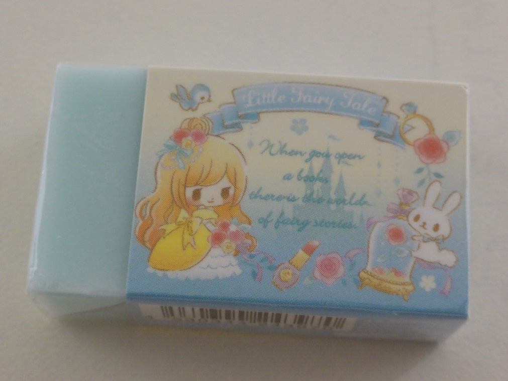Cute Kawaii Q-Lia Little Fairy Tale Princess Eraser - Cinderalla