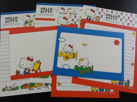 Cute Kawaii Sanrio Hello Kitty Letter Sets - Writing Paper Envelope Stationery