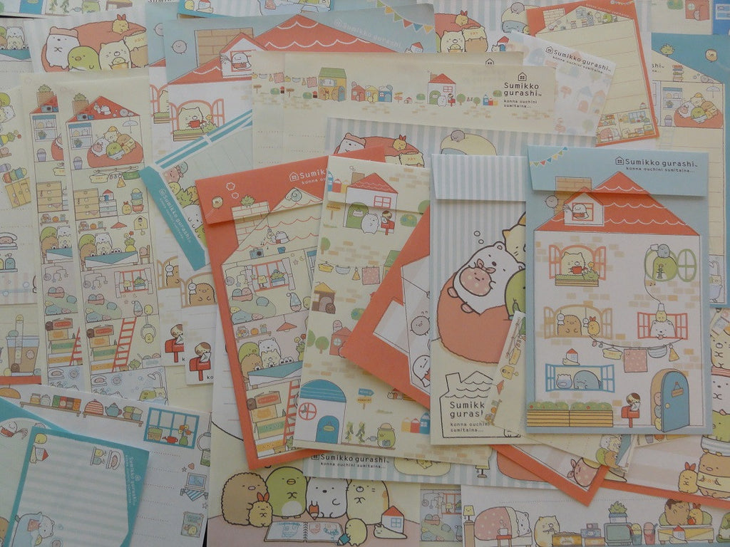 San-X Sumikko Gurashi Home Stationery Set