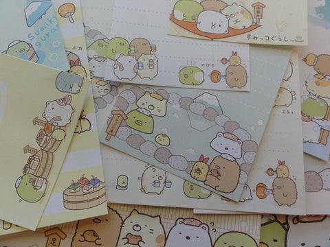 San-X Sumikko Gurashi Spa Onsen Stationery Set