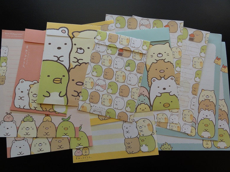 San-X Sumikko Gurashi Friends Letter Sets - B