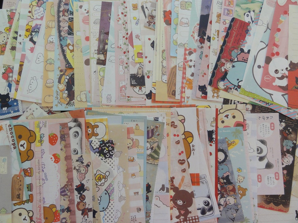 Grab Bag San-X 4 x 6 in Note Paper: 100 pcs SAN-X Memo