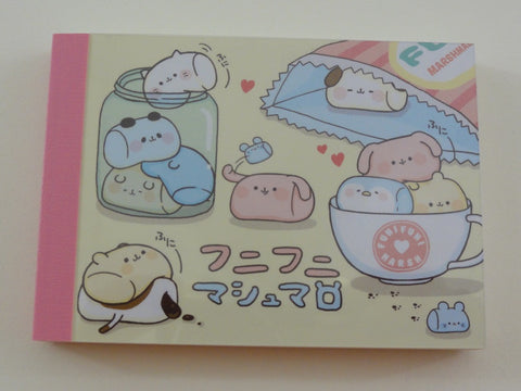 Cute Kawaii Kamio Marshmallow Mini Notepad / Memo Pad - Stationery Designer Paper Collection