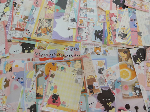 Cat Kitten Kitty Paper Memo Set