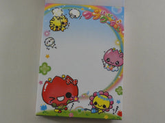 z Cute Kawaii Kamio Tulip Clover Mini Notepad / Memo Pad - Vintage Rare Collectible - Stationery Design Writing